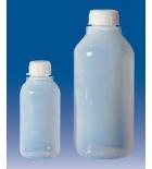 бутылка узкогорлая градуированная 1000 мл, п/эт, LAMAPLAST