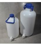 бутыль с краном, с завинчивающейся крышкой и ручкой, 10 л, Aptaca ПЭВД
