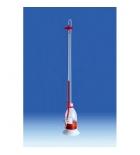бюретка Шиллинга, 25 мл,  пластиковая РР, класс В (106399) (Vitlab)